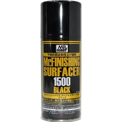 Mr Surfacer 1500 negro spray 170 ml